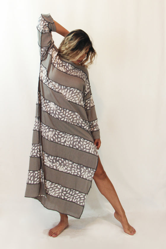 Desert Raya - Long Leeni Tunic - 5064 Flame