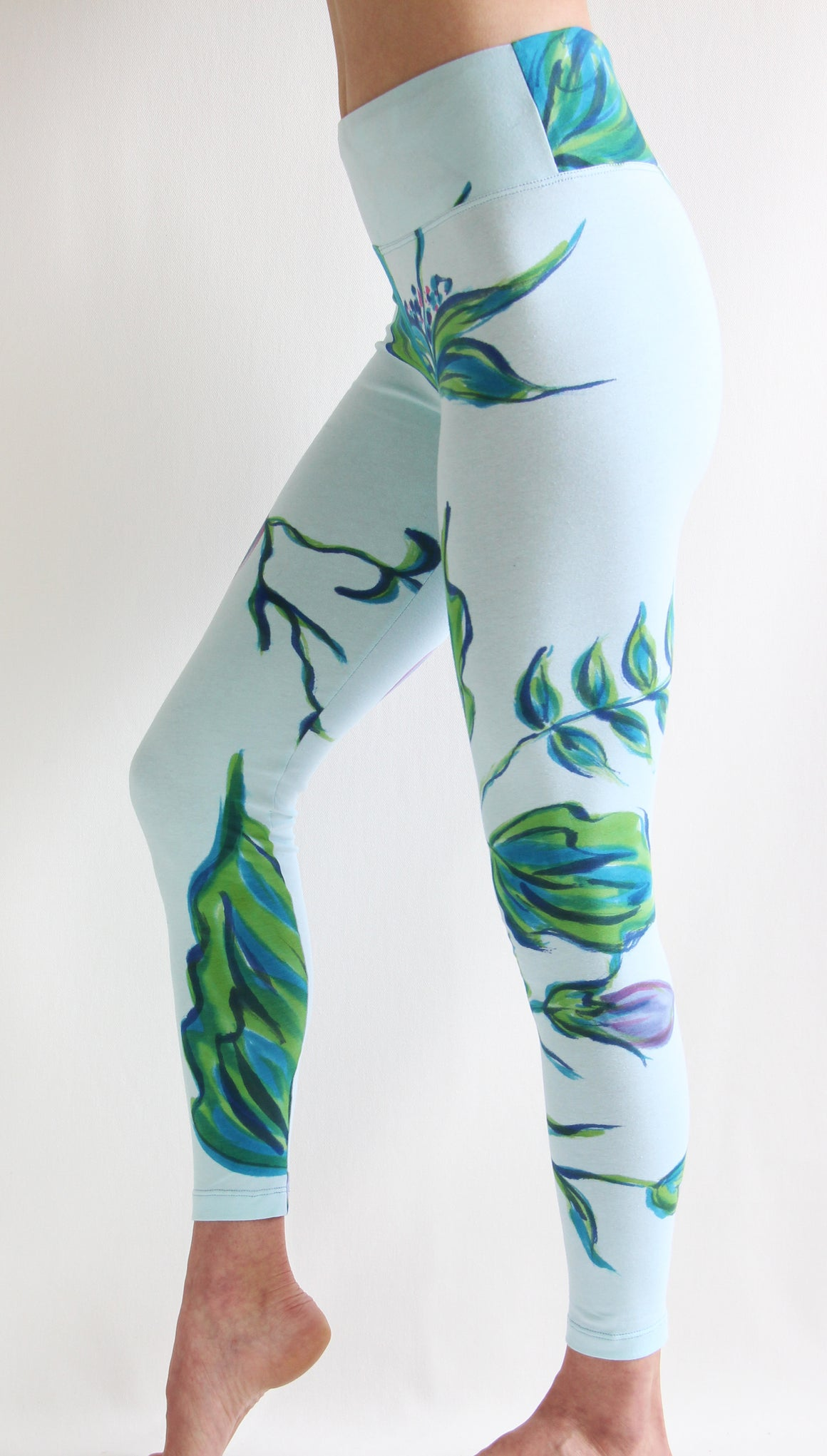 Morning Glory - Leggings or Crops