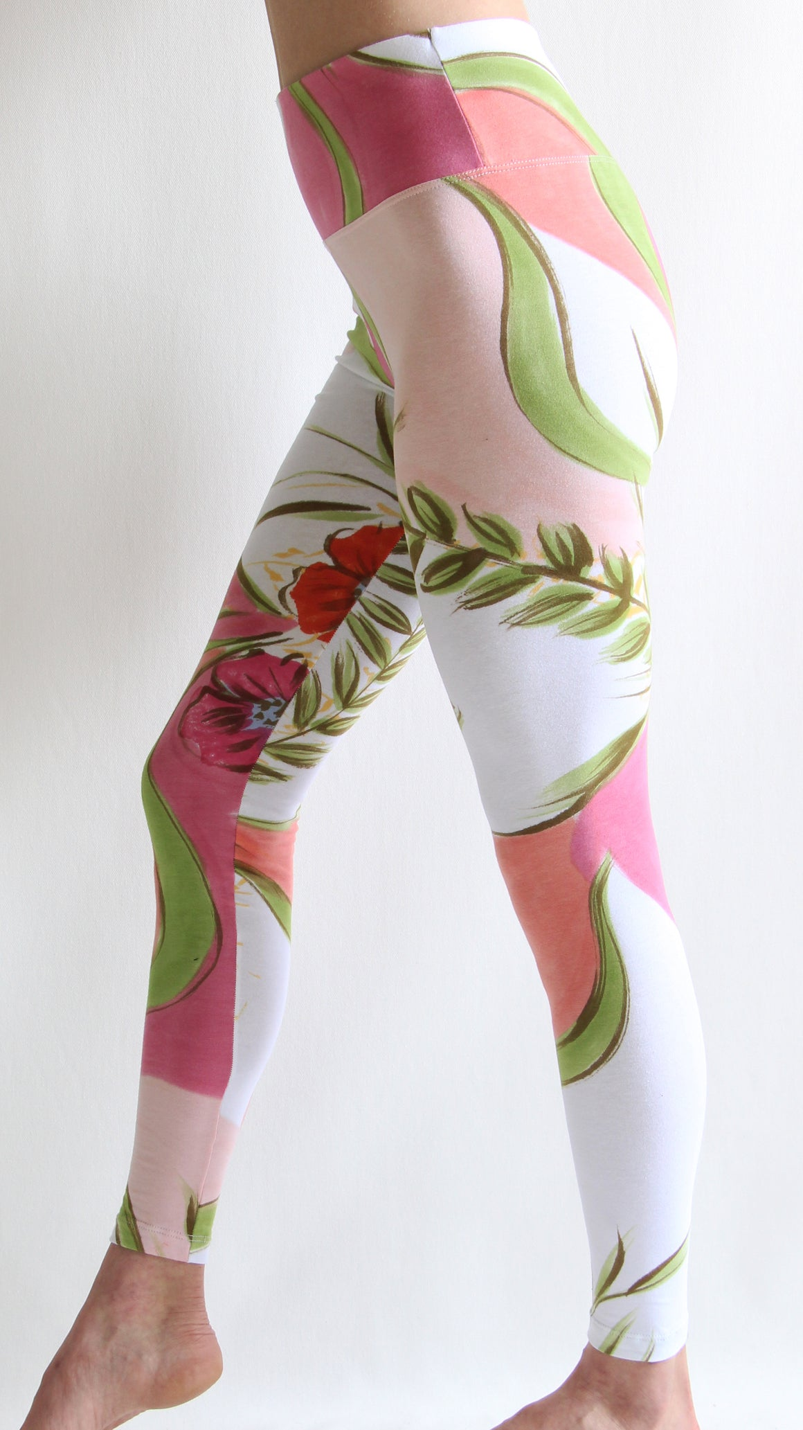 Rainforest Posy - Leggings or Crops
