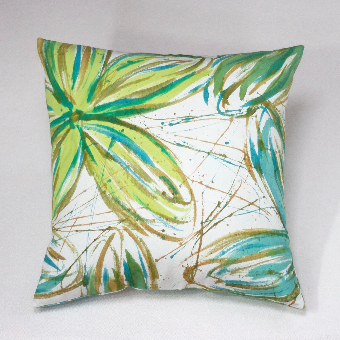 Accent Pillows - Hand Painted - FlowerPower