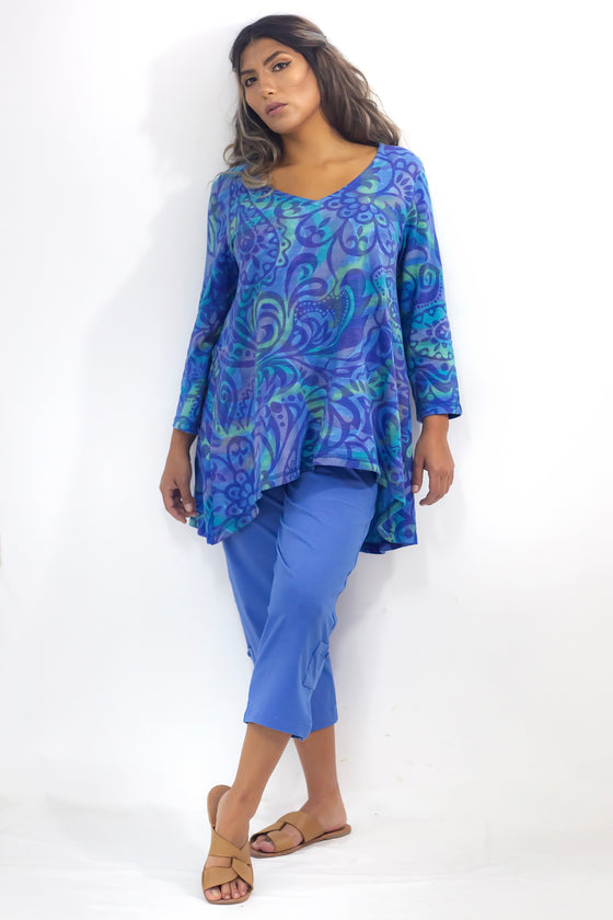 Easy Tunic - Ocean Blue