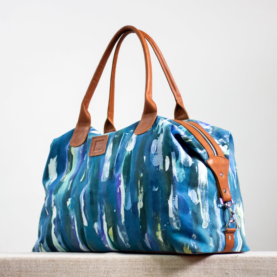 Intrepid Traveler - Convertible Tote - Blue Rain