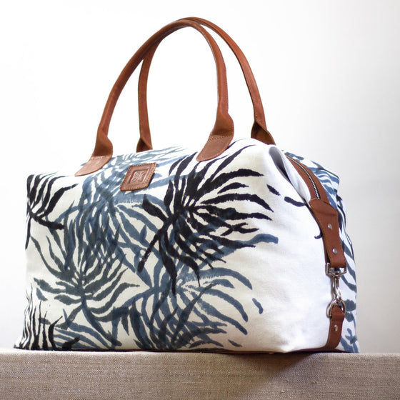 Intrepid Traveler - Convertible Tote - SeaFern