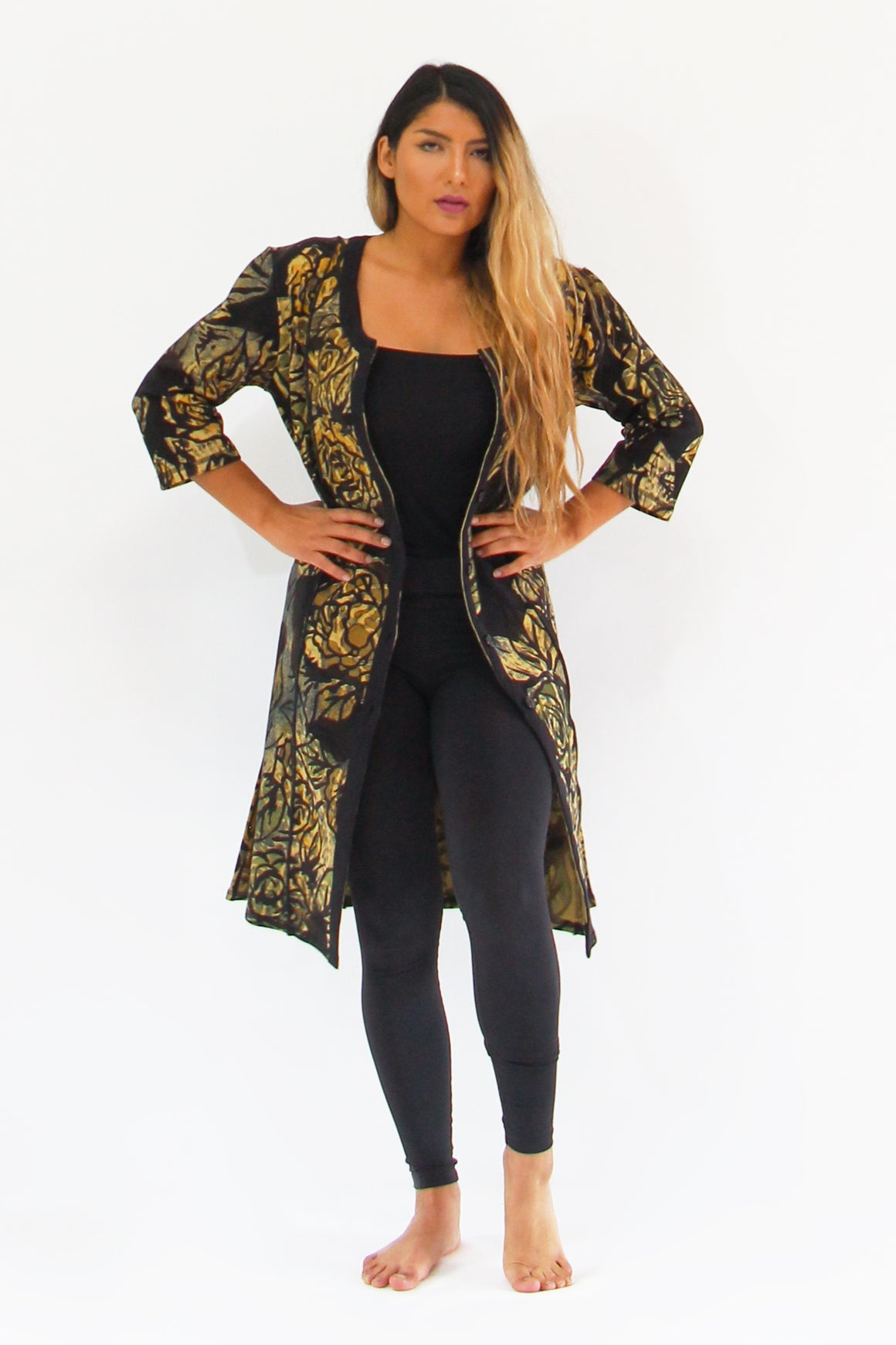 Complexity-1038L Pillar Jacket Long - Separates