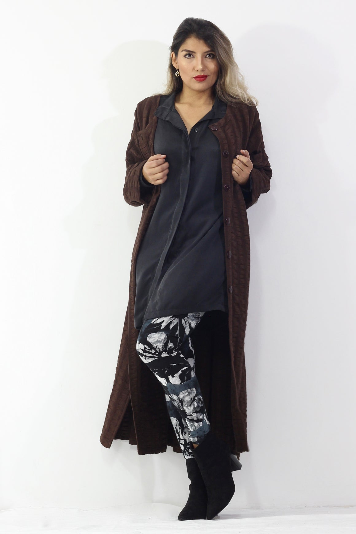 BronzeMe - Biggy Jacket, Leggings, Silk Blouse- Separates