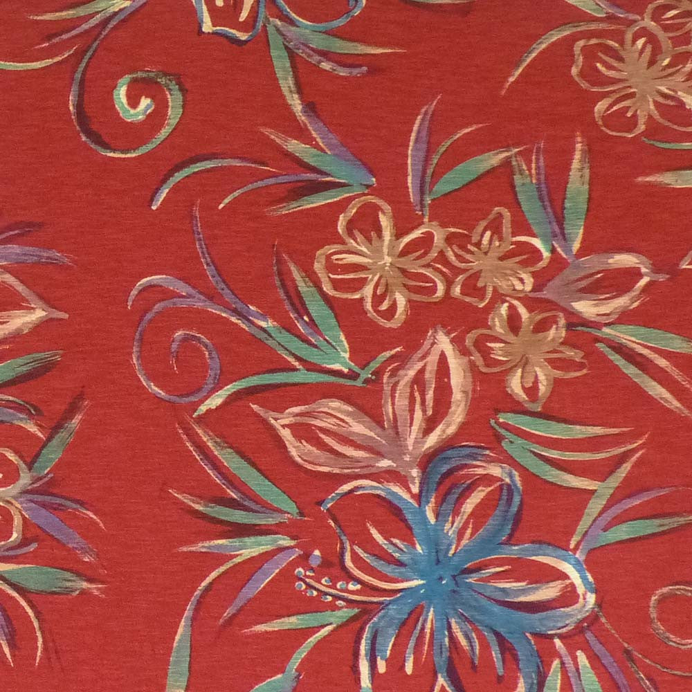 WineRed Winter Floral