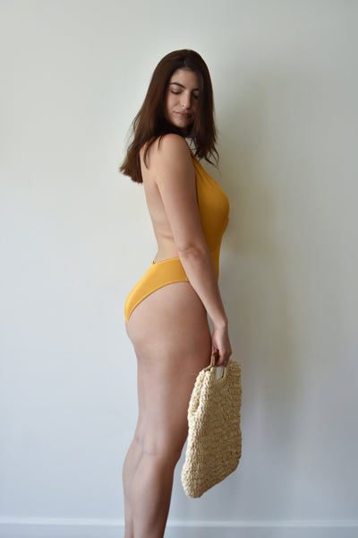 60's Girl One Piece Swimsuit