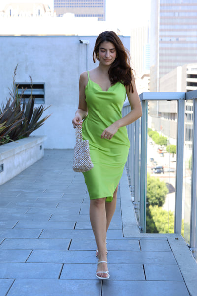 Lime Drop Dress