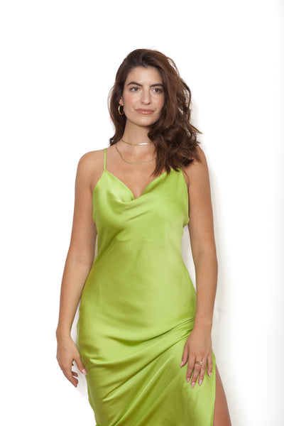 Lime Dress Front
