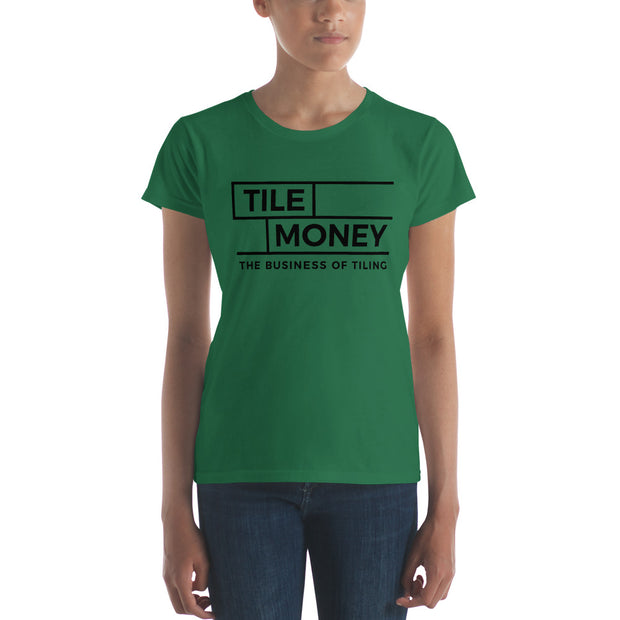 Women's short sleeve t-shirt Logo on Front only