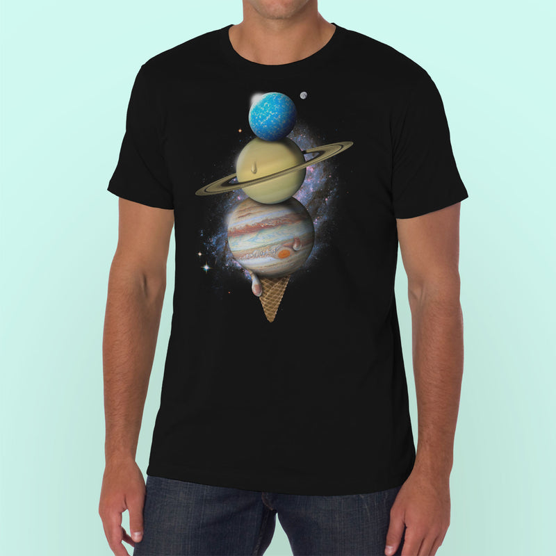 Space Cream Cone T-Shirt