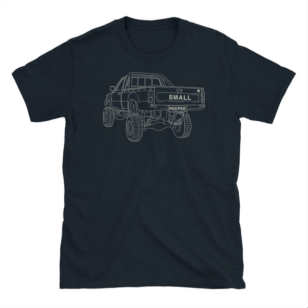 Big Truck Small Peepee T-Shirt