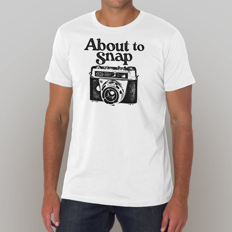 About To Snap Photography T-Shirt