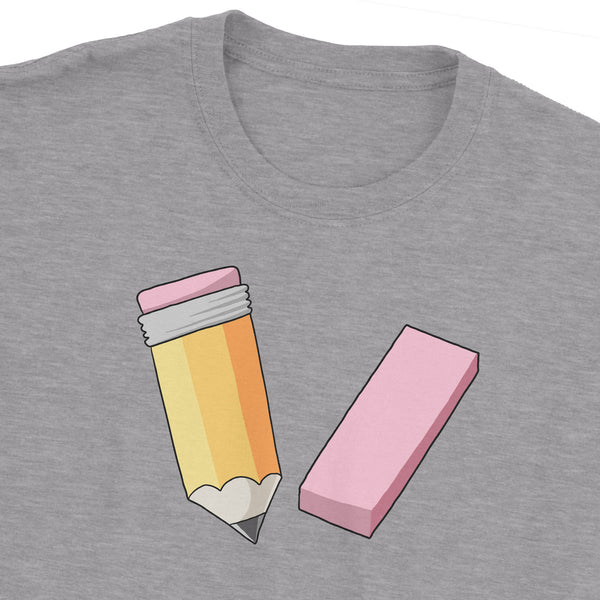 Pencil And Eraser T-Shirt