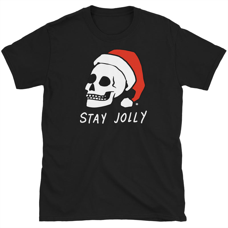 Stay Jolly Christmas Skull T-Shirt