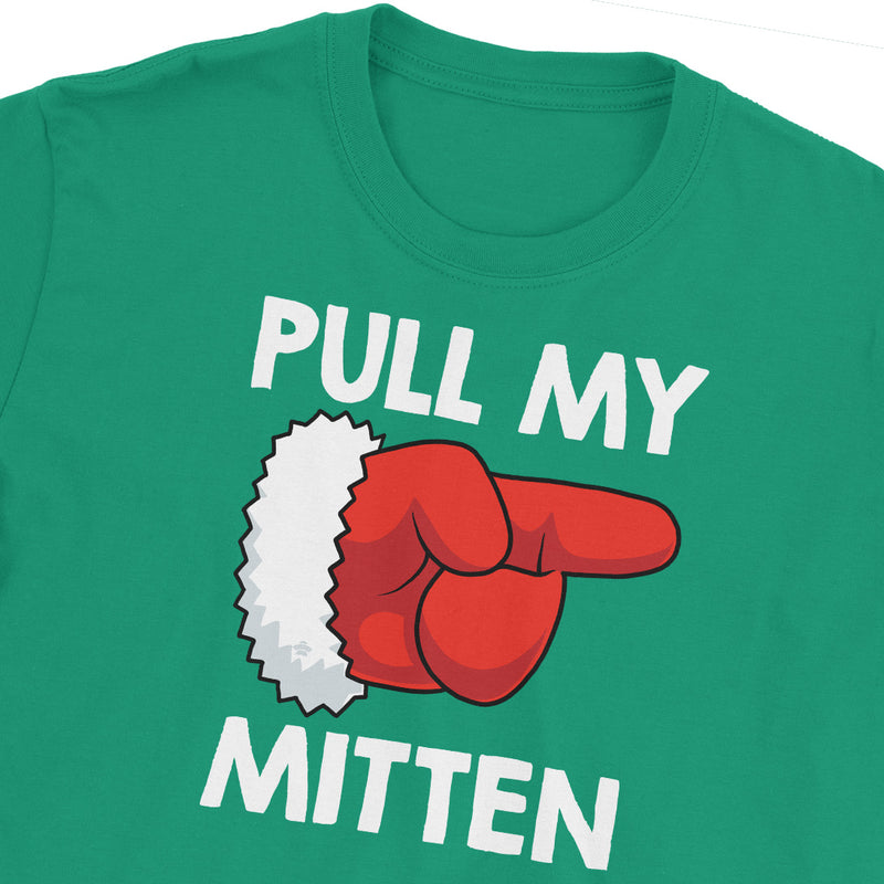 Pull My Mitten Christmas Fart T-Shirt