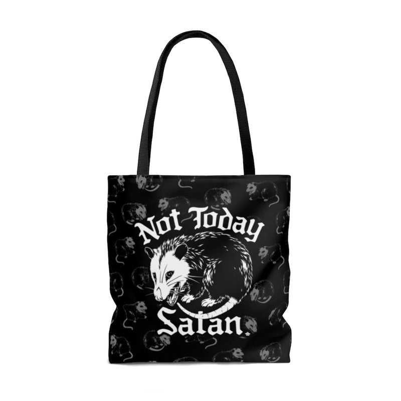 Not Today Satan Tote Bag
