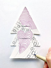 Load image into Gallery viewer, 禪繞延伸藝術 聖誕親子藝術包 · Zentangle Christmas Parent-Child Art Pack