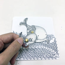 Load image into Gallery viewer, 禪繞延伸藝術 親子藝術包 · Zentangle Parent-Child Art Pack