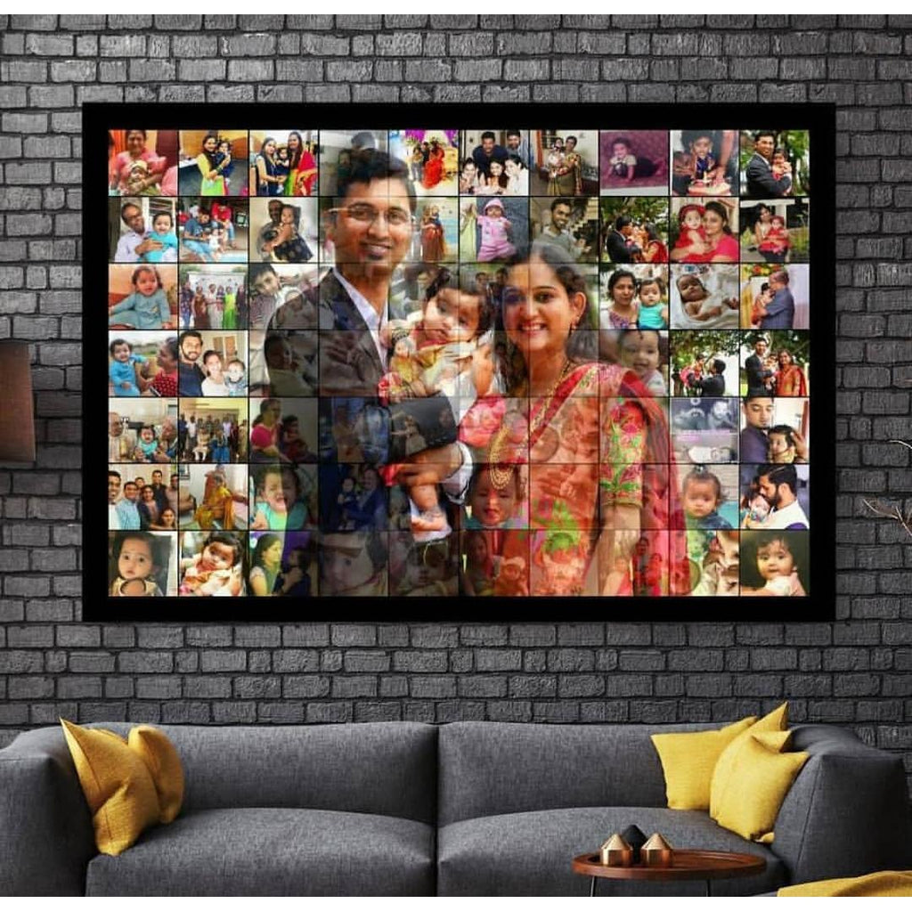 Personalized Mosaic Photo Frame