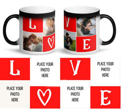 LOVE PERSONALIZED MAGIC MUG