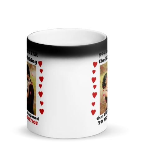 The best thing Personalized magic mug