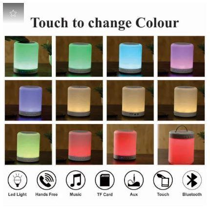 Personalized Smart Touch Mood Lamp Speaker