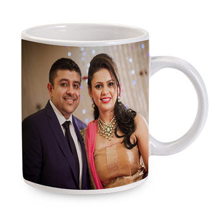 Personalized White Photo Mug