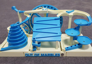 The Two Wheeler - Triple Marble Machine - STL File - Out Of Marbles