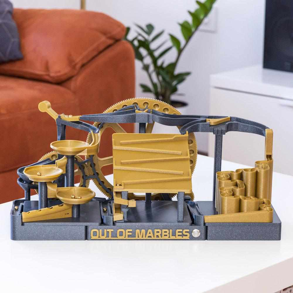 The Two Wheeler | 3 Modules | STL File - Out Of Marbles