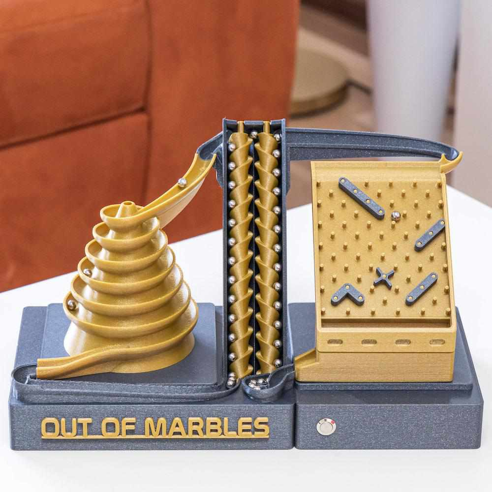 The Double Screw | Assembled - Out Of Marbles