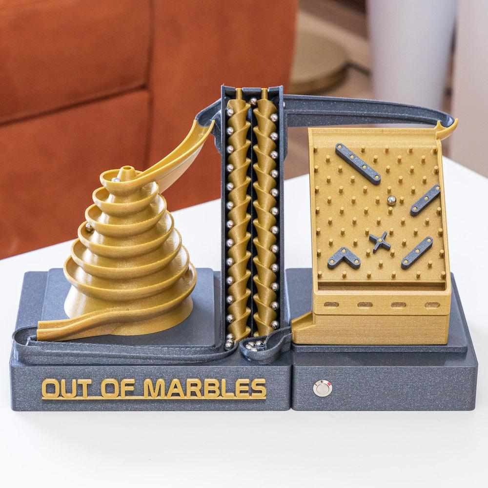 The Double Screw | 2 Modules | STL File - Out Of Marbles