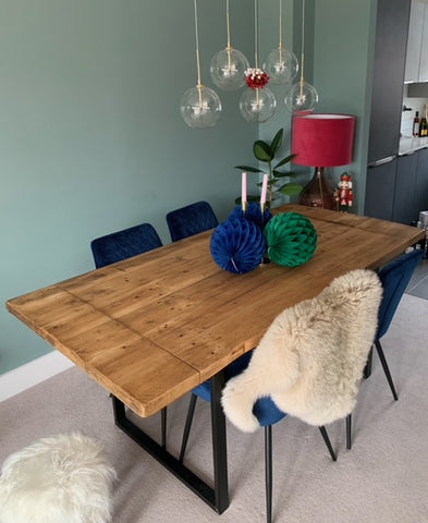 reclaimed table - extendable