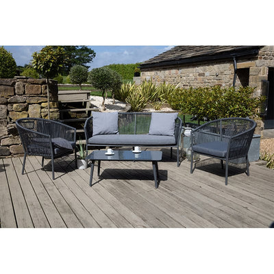Lagos Stackable Outdoor Lounge Set