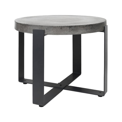 Urban Collection - Concrete Low Side Table