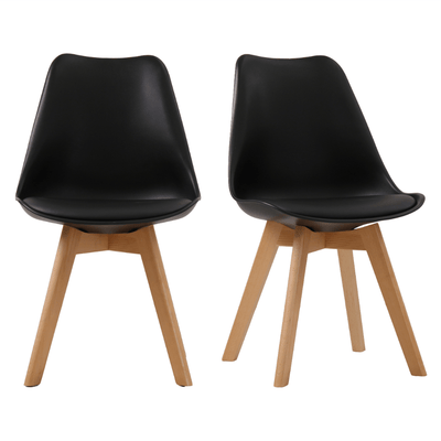 Scandi Padded Dining Chair (set of 2)