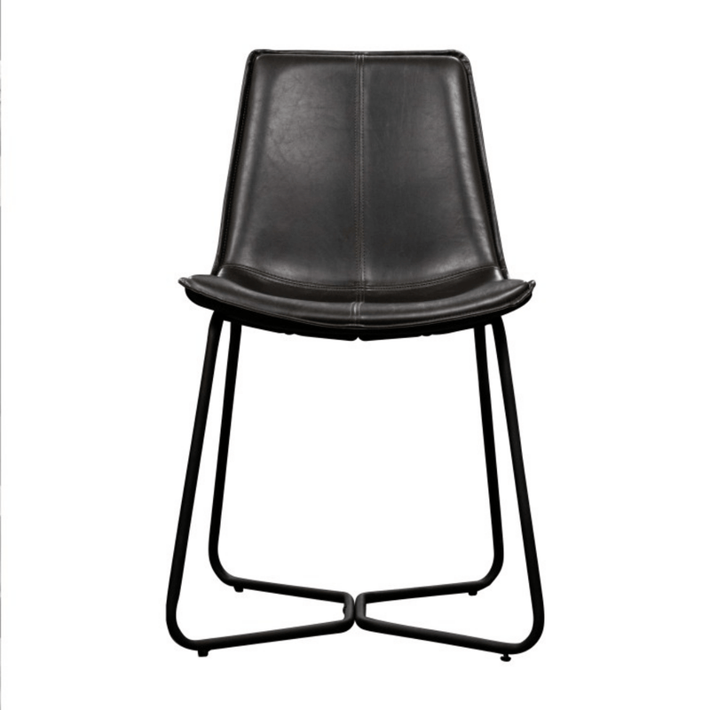 Hartford Dining Chair - Charcoal (Set of 2)
