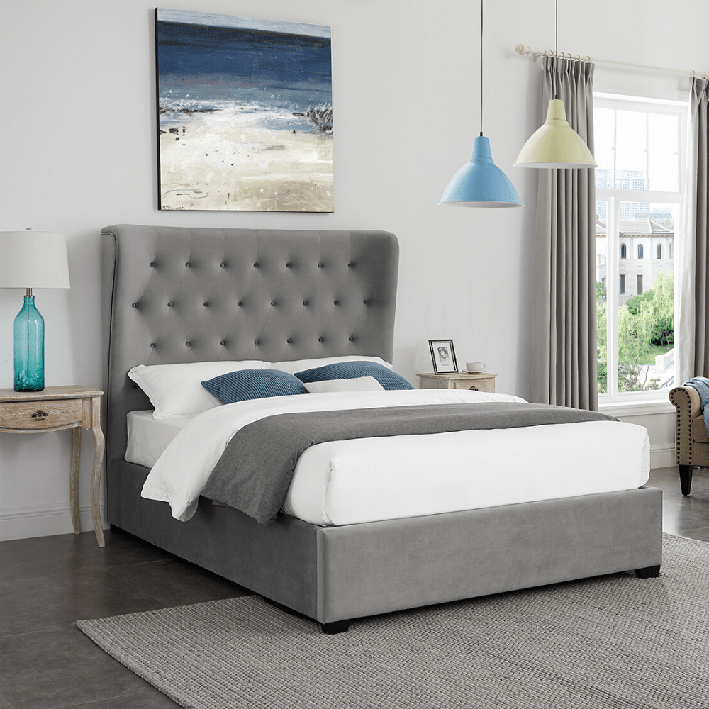 Fitzroy Deluxe Ottoman Storage Bed