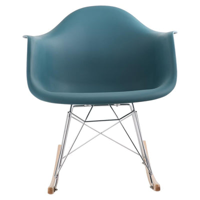 Eames Style Rocking Tub Chair