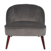 Velvet Accent Chair