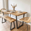 Pre-Christmas Delivery - Industrial Dining Table - Calia Style