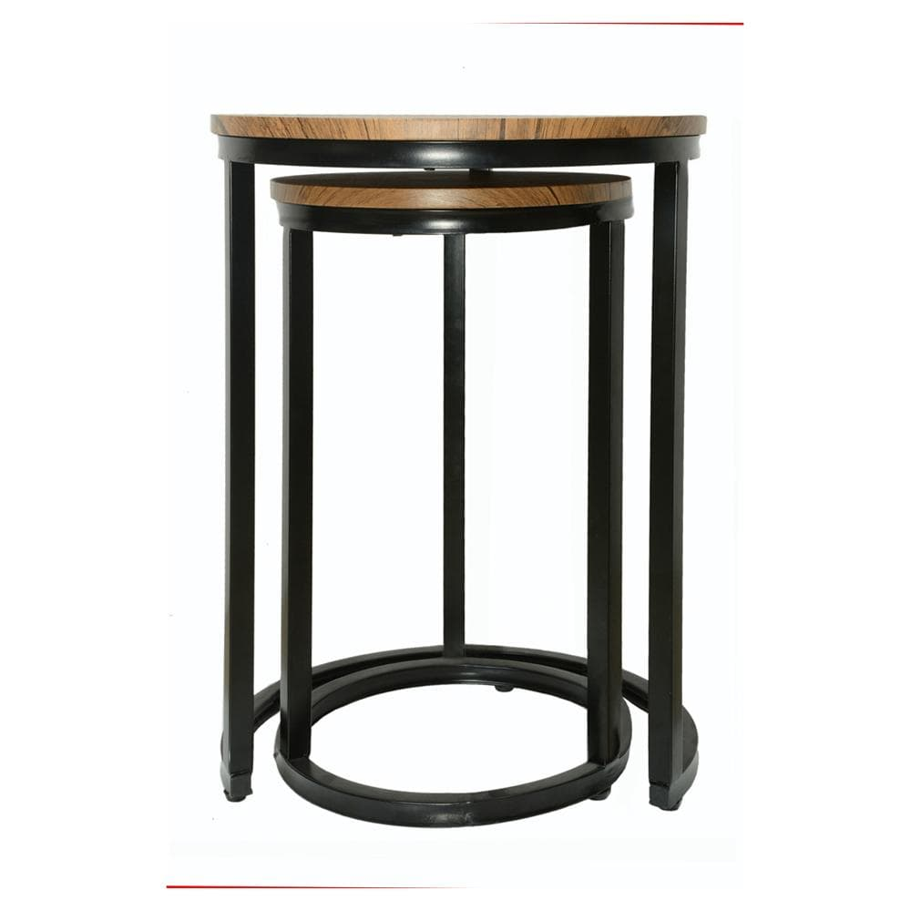 Havana Industrial Chic Nested Occasional Tables