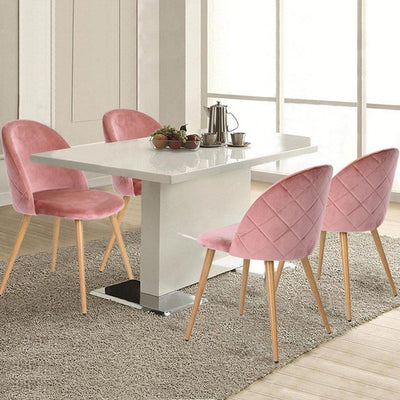 Florence Velvet Curve Dining Chairs