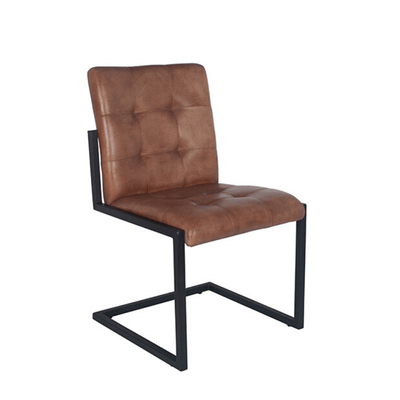 Vintage Leather Dining Chair