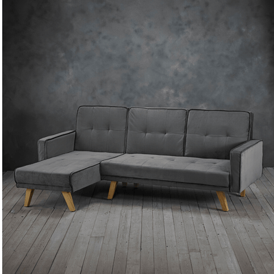 Evoke Corner Chaise Sofa Bed