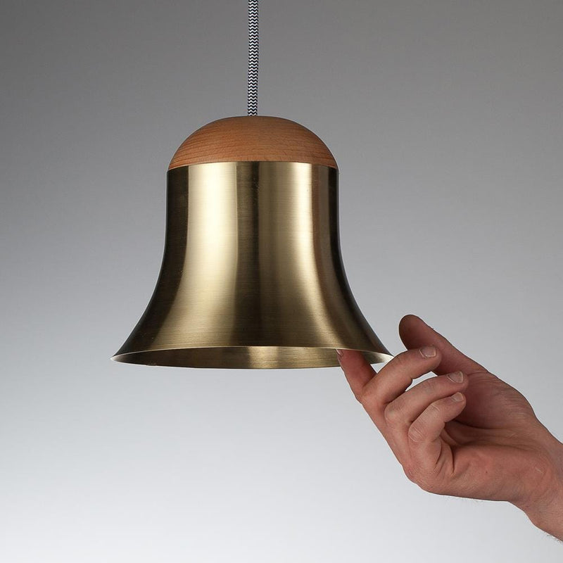 Aku Hand-Crafted Pendant Light by Moom