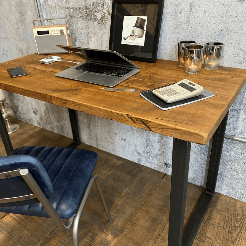 Reclaimed Desk - U Base