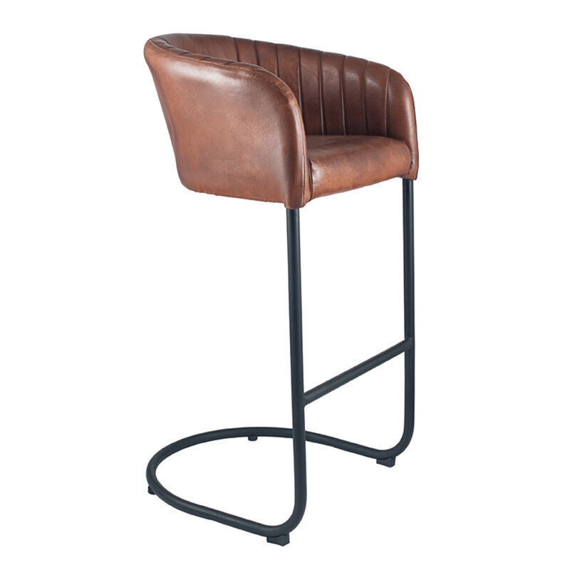 Vintage Style Tub Bar Stool