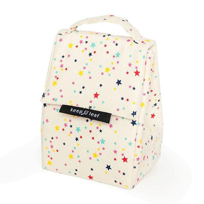 Organic Cotton Insulated Lunch Bag by Keep Leaf