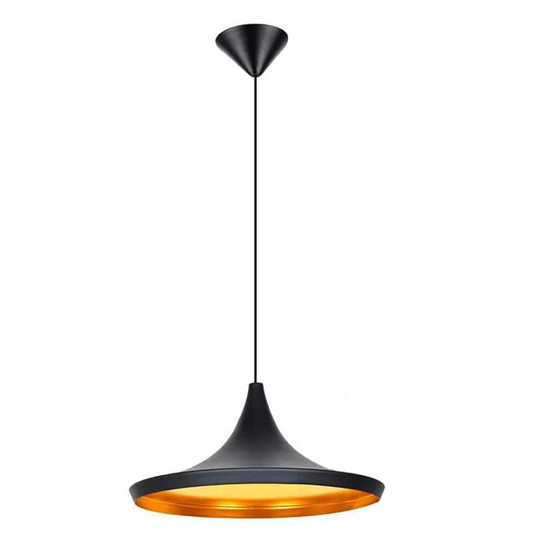 Retro Black and Copper Pendant Light